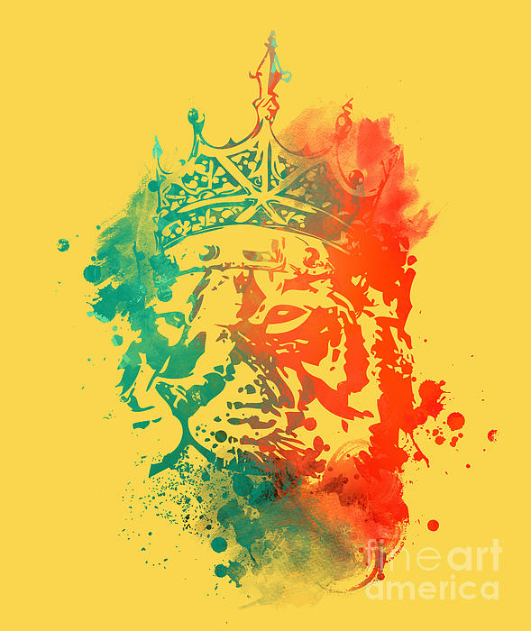 King Of The Jungle Print by Budi Satria Kwan