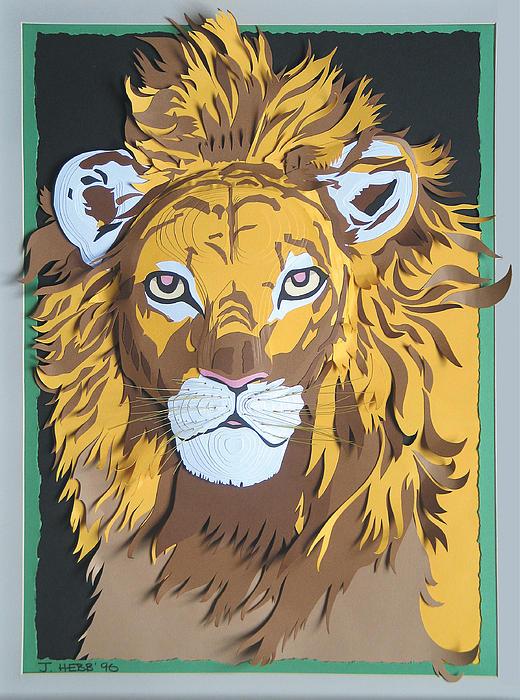King Of The Jungle Print by John Hebb