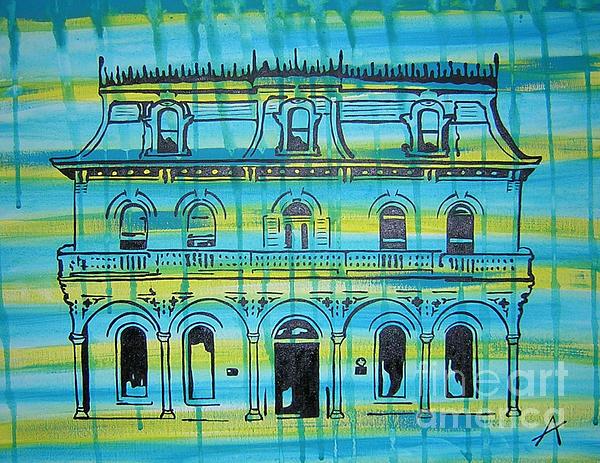 King William Steves Homestead Print by Amanda Furr