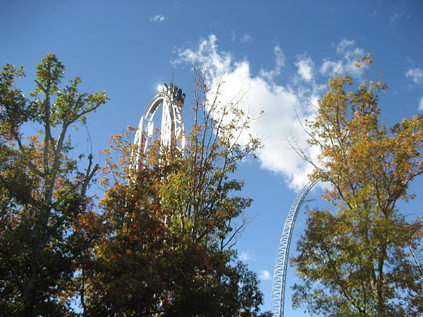 Kings Dominion - Hypersonic Xlc - 12121 Print by DC Photographer