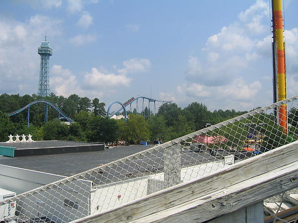 Kings Dominion - Shockwave - 01131 Print by DC Photographer