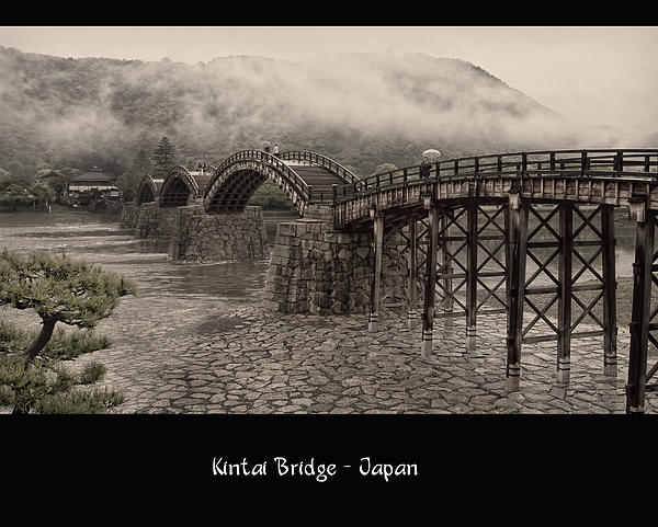 Kintai Bridge Print by Kim Andelkovic