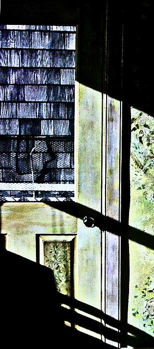 Kitchen Door At Alice Brock's Print by Mike McCool