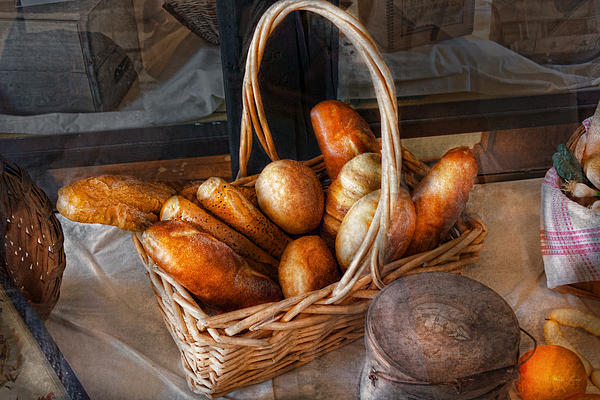 Kitchen - Food - Bread - Fresh Bread  Print by Mike Savad