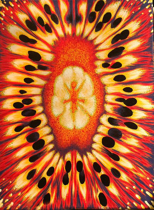 Kiwi Print by Jessica Farley