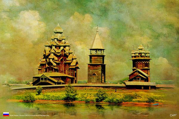 Kizhi Pogost Print by Catf