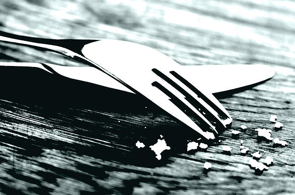 Knife And Fork Print by Blink Images
