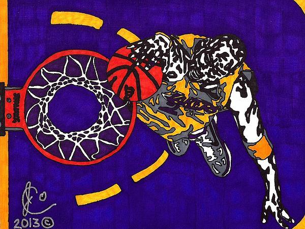 Kobe Bryant Print by Jeremiah Colley