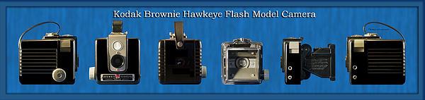 Kodak Brownie Hawkeye Camera Print by Thomas Woolworth