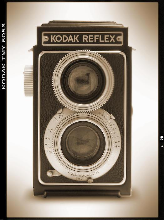 Kodak Reflex Camera Print by Mike McGlothlen
