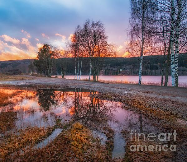 Kongsvinger Norway Print by Rose-Maries Pictures