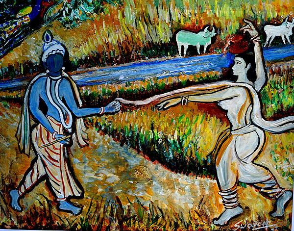 Anand Swaroop Manchiraju - Krishna in   Madhura