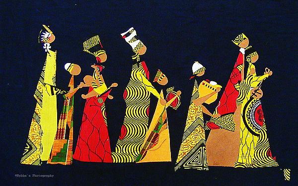Kwaanza Celebration Print by Ruth Yvonne Ash