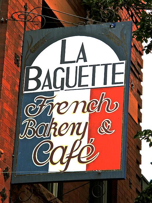 La Baguette Print by Jeff Gater