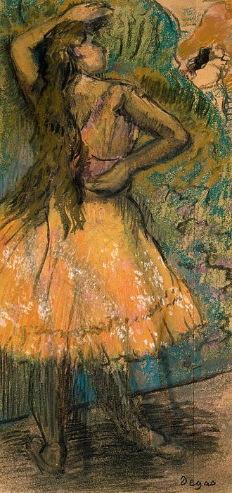 La Danseuse Print by Edgar Degas