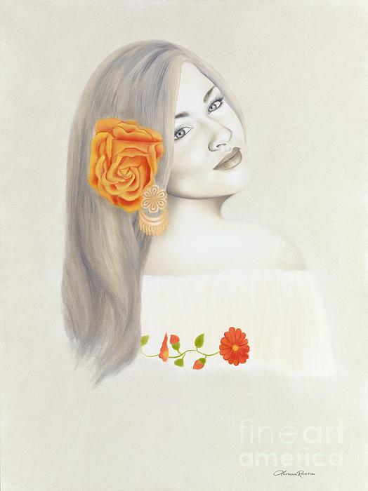 La Diva Print by Lorena Rivera