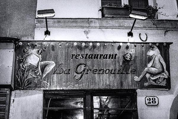 Denise Dube - La Grenouille Paris Denise Dube