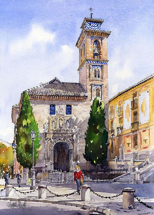 La iglesia de santa ana granada by margaret merry - Santa ana granada ...