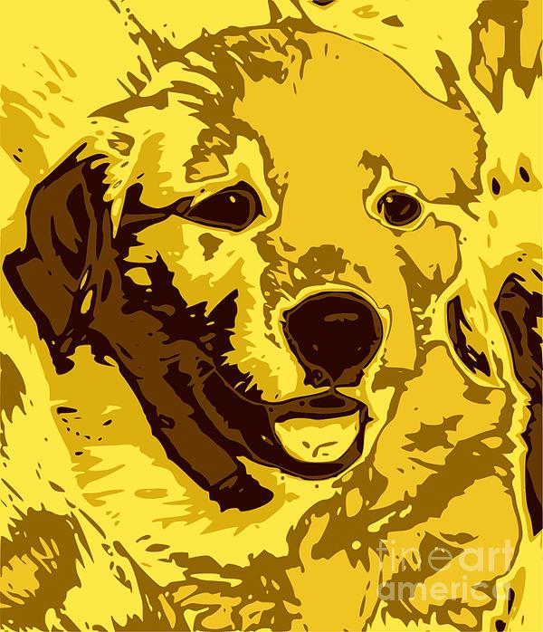 Labrador Print by Chris Butler