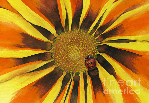 Lady Bug Print by Nan Wright