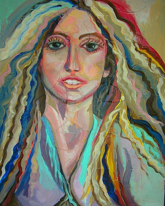 Lady Gaga Print by Julie Lee
