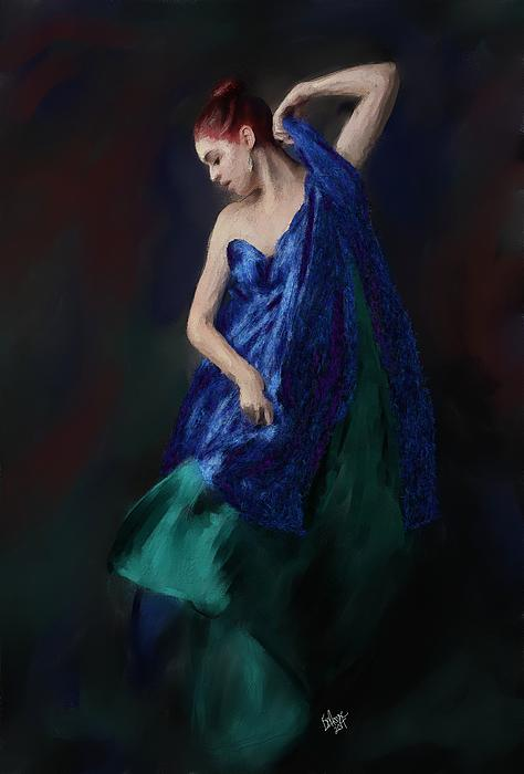 Stacy Moore - Lady In Blue