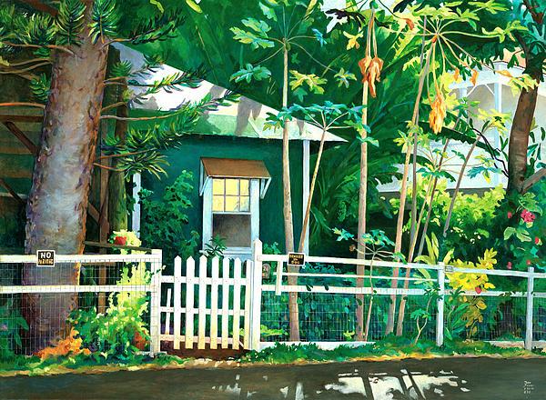 Lahaina Cane House Print by Don Jusko
