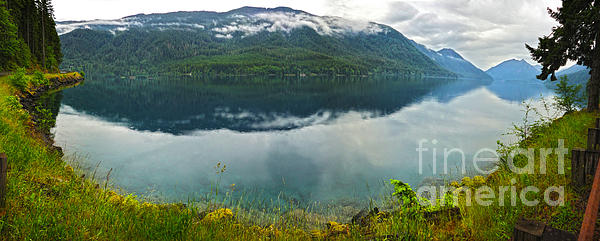 Lake Crescent - Washington - 03 Print by Gregory Dyer