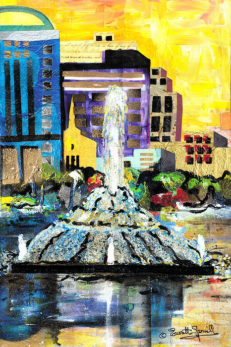 Lake Eola - Part 2 Of 3 Print by Everett Spruill