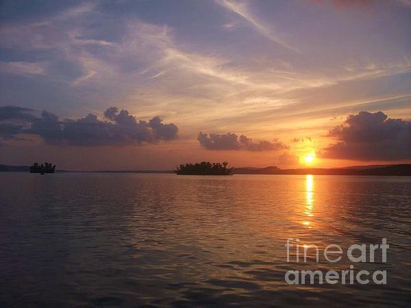 Jackie Burlingame - Lake Wisconsin Sunset