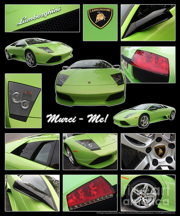 Lambo - Murci-me - Poster Print by Gary Gingrich Galleries