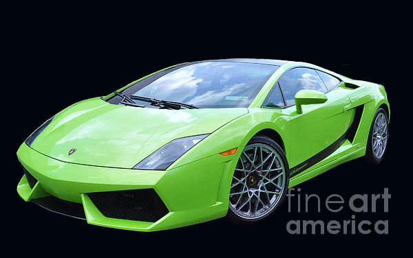 Lambourghini Salamone Print by Allen Beatty