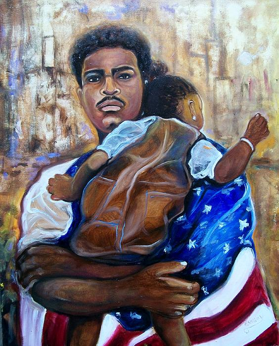 Land Of The Free  Print by Emery Franklin
