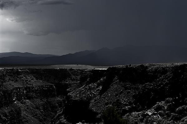 Landscape 17 E Taos Nm Print by  Otri  Park