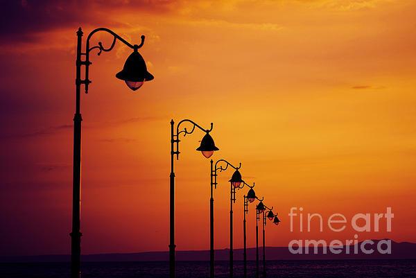 Lanterns Print by Jelena Jovanovic