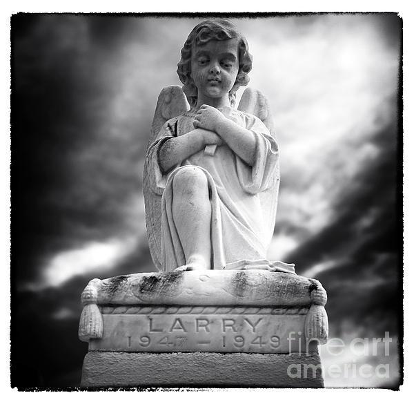 Larry Print by John Rizzuto