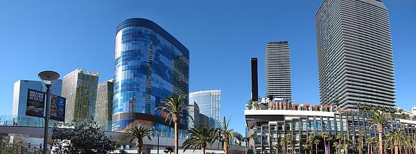 Las Vegas - Cosmopolitan Casino - 12121 Print by DC Photographer