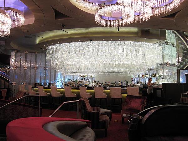 Las Vegas - Cosmopolitan Casino - 12123 Print by DC Photographer