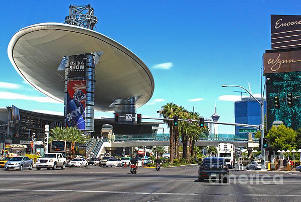 Las Vegas Print by Gregory Dyer