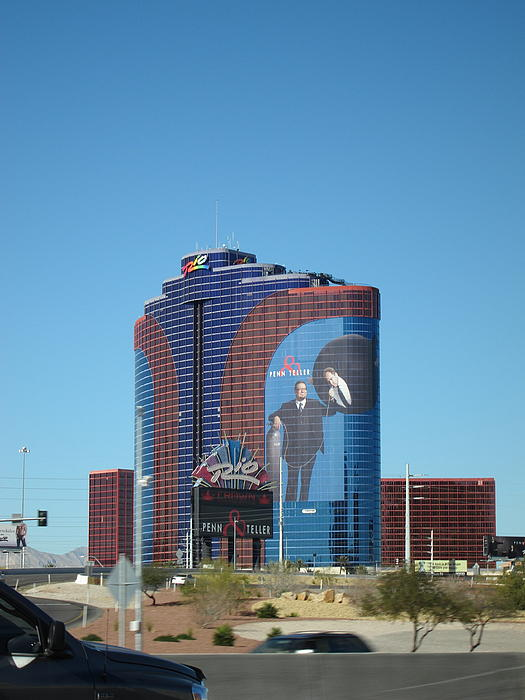 Las Vegas - Rio Casino - 12121 Print by DC Photographer