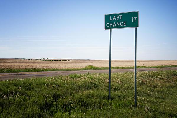 Last Chance Colorado Print by Mary Lee Dereske