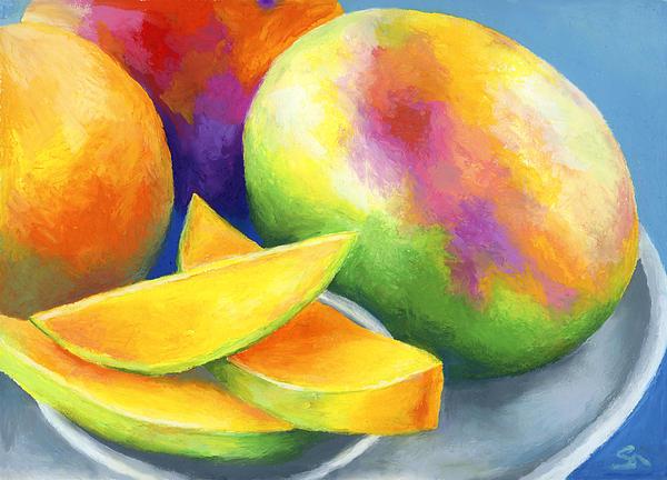 Last Mango In Paris Print by Stephen Anderson