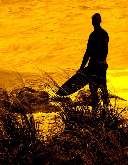 Last Surfer Standing Print by Ian  MacDonald