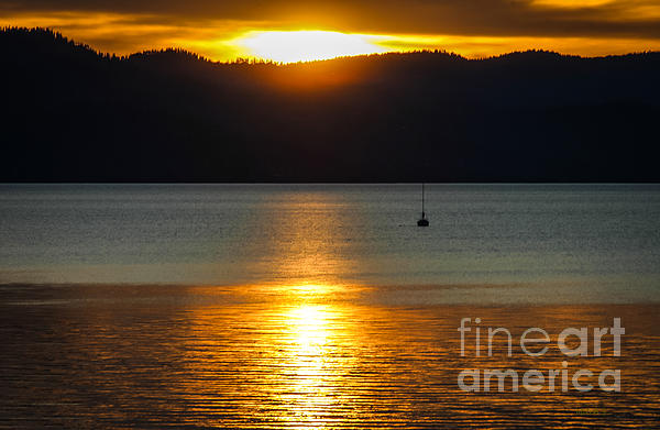 Late Summer Sunset Print by Mitch Shindelbower