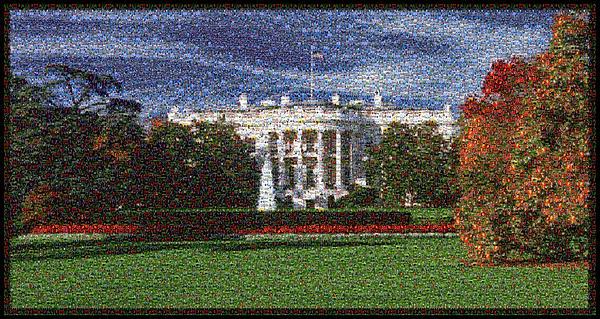 Lisa A Bello - LE Obama Photo Mosaic South Lawn