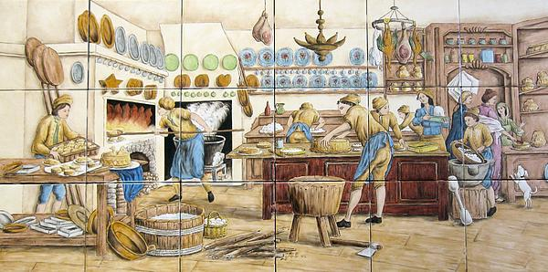 Le Patissier By Diderot Print by Julia Sweda