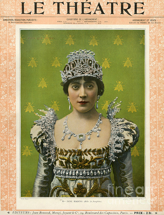 Le Theatre 1899 1890s France Magazines Print by The Advertising Archives