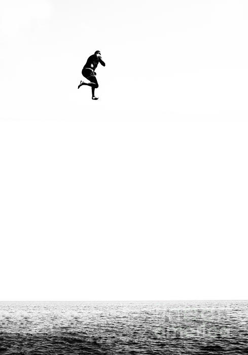 Leap Of Faith Print by Stylianos Kleanthous