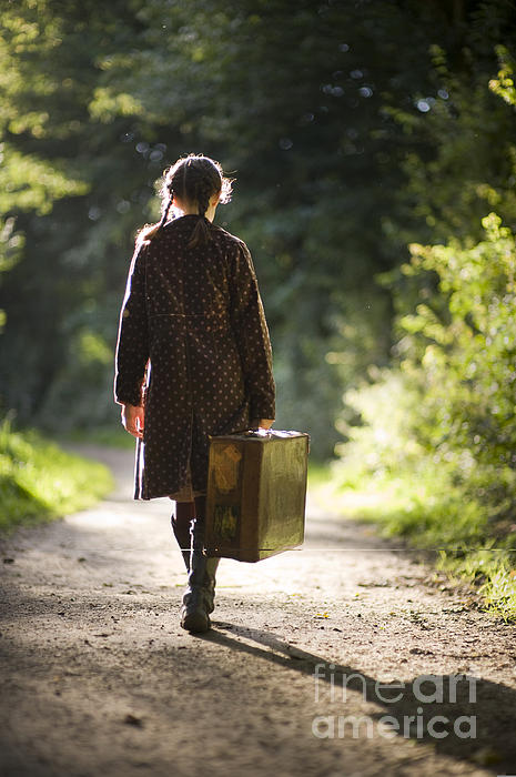 Leaving Home Print by Lee Avison
