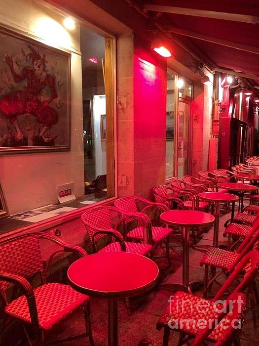 Barbara Chase - Left Bank Cafe